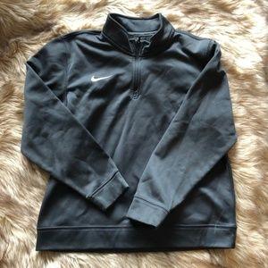 Nike 3/4 Zip Sweater Pullover - Boys/Kids Large